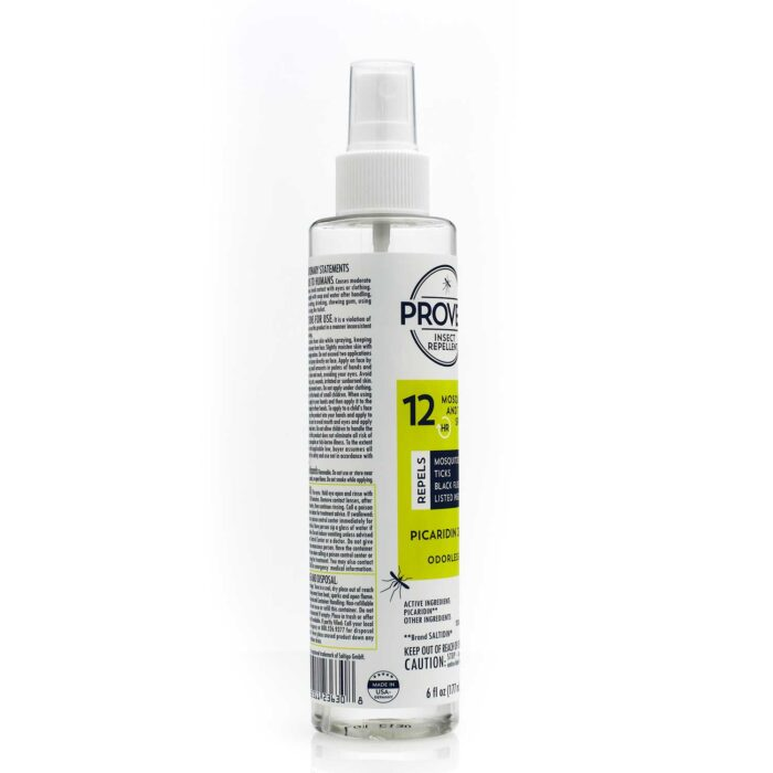 side view of 12 hour odorless proven mosquito repellent