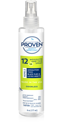 Proven_Insect Repellent_Spray_6oz_Odorless