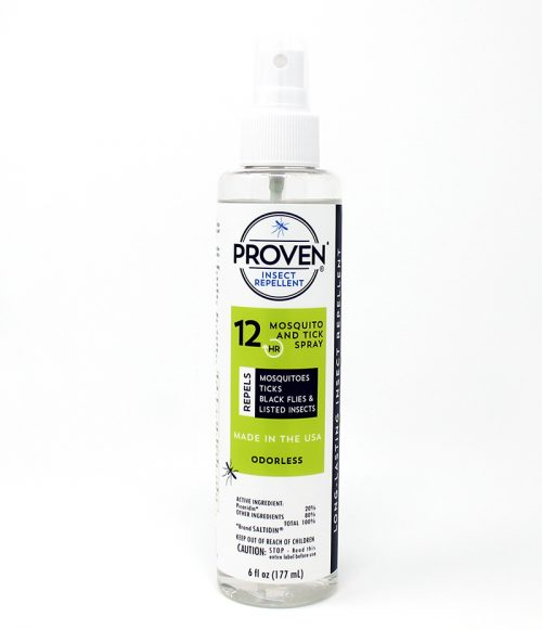 Proven_Insect Repellent_Spray_Odorless_protection_safe_best_healthy_deet free_baby_pregnant_zika_12 hour odorless spray