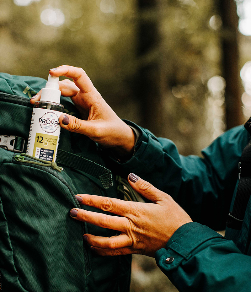 Proven_Insect Repellent_Spray_Odorless_protection_safe_best_healthy_deet free_forest_woods_hiking_fishing_hunting