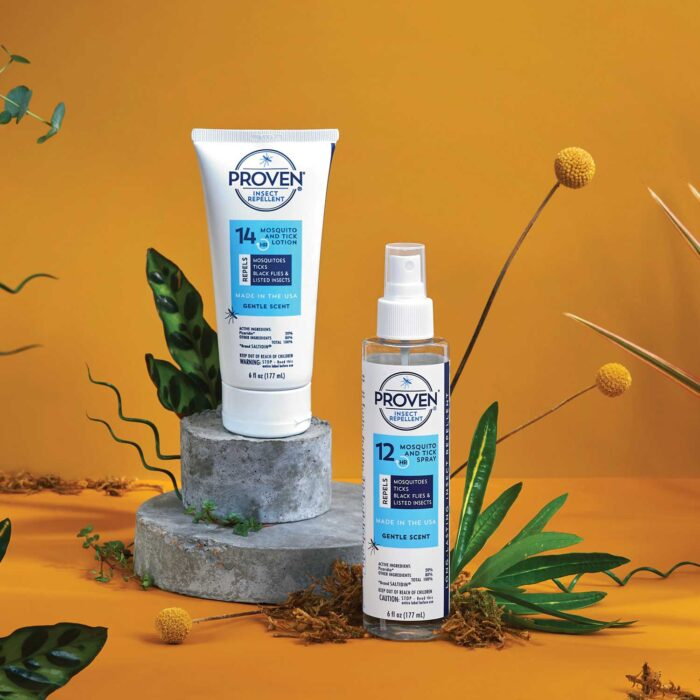 gentle scent proven mosquito repellent lotion and spray