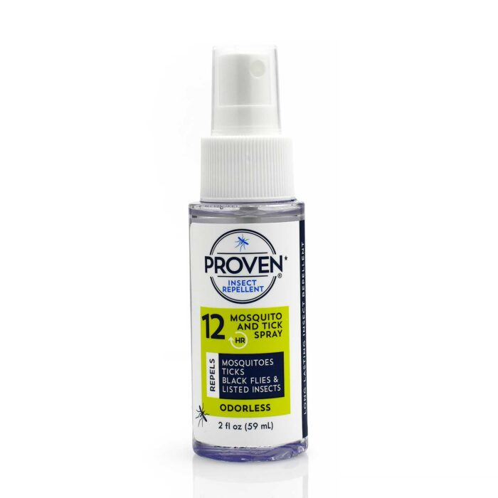 12 hour odorless proven mosquito repellent spray
