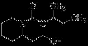 Saltidin (Picaridin) molecular structure_Proven_Insect_Repellent