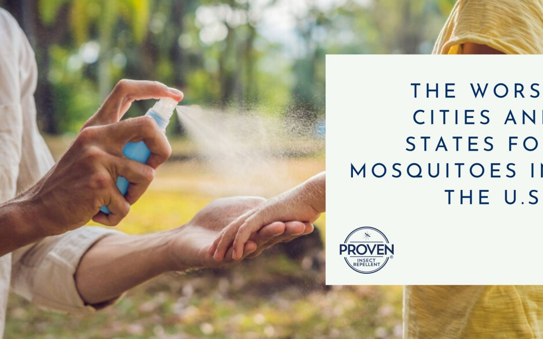 The Worst Cities and States for Mosquitoes in the U.S.
